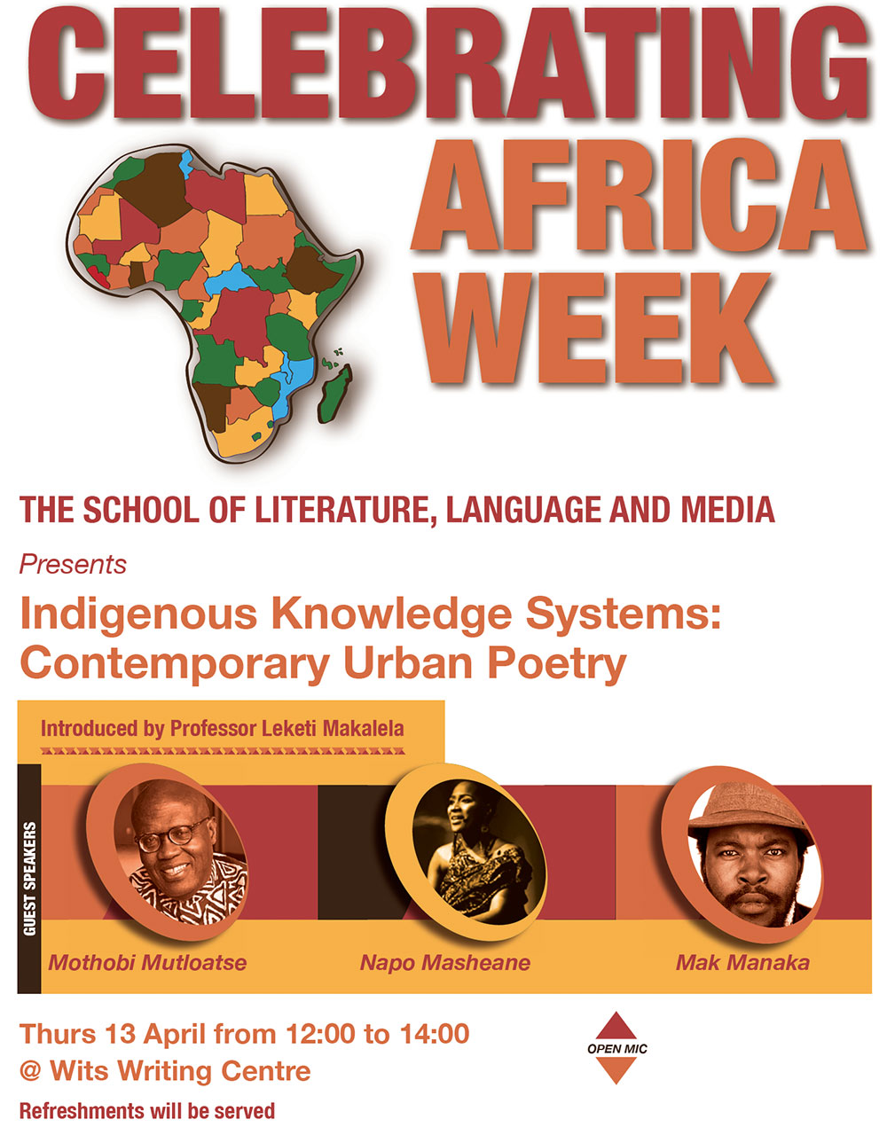 Africa Week Contemporary Urban Poetry