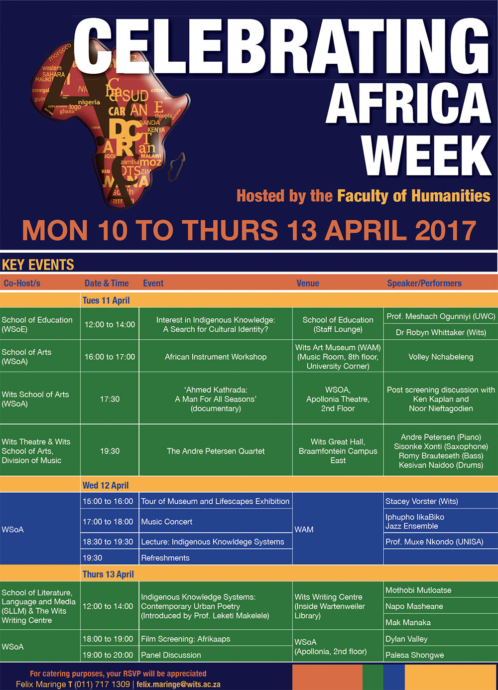 Africa Week hosted by the Faculty of Humanities