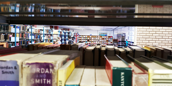 Library, books and study