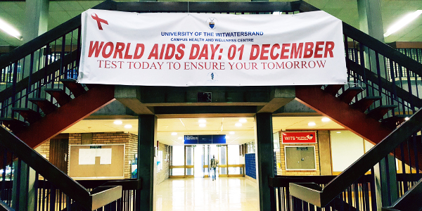 World Aids Day at Wits University