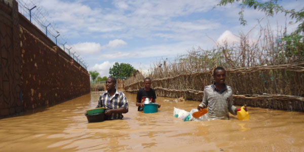 Floods and extreme weather in Africa