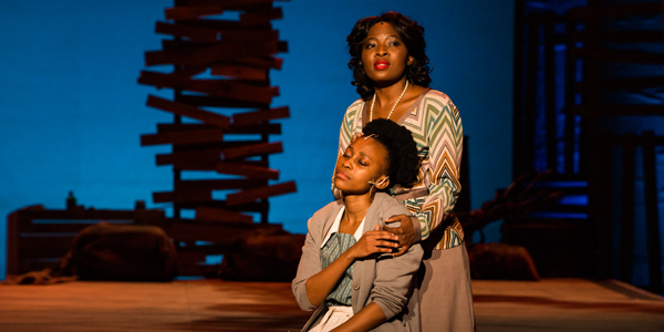 Witsies Didintle Khunou and Lerato Mvelase star in 'The Color Purple'