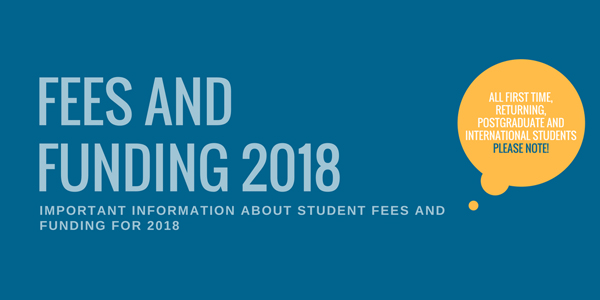 Fees and funding 2018