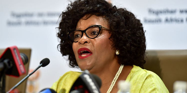 Minister of Water Affairs, Nomvula Mokonyane. © Flickr GovernmentZA..jpg