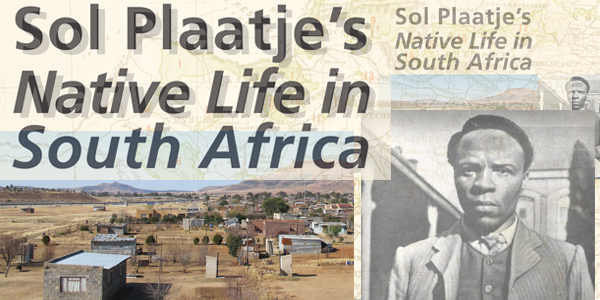 Book cover: Sol Plaatje's Native Life in South Africa: Past and Present