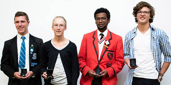 Top performers at the Wits Maths Competition