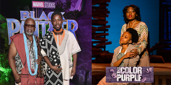 Witsies star in 'Black Panther' and 'The Colour Purple'.