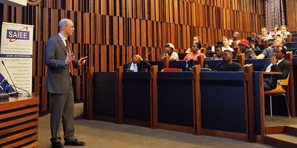 Professor Ian Craig, Group Head: Control Systems in the Department of Electrical, Electronic and Computer Engineering at the University of Pretoria, delivered the 2018 Bernard Price Memorial Lecture at Wits University.