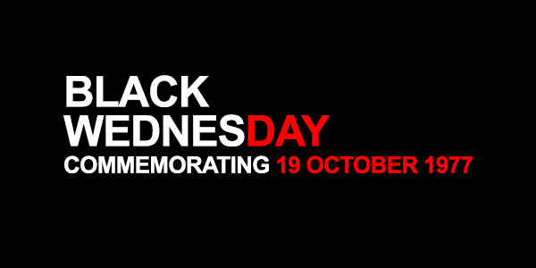 Black Wednesday/Media Freedom Day