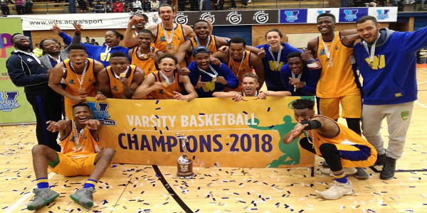Wits basketball were undefeated during quest to win Varsity Basketball 2018 champs
