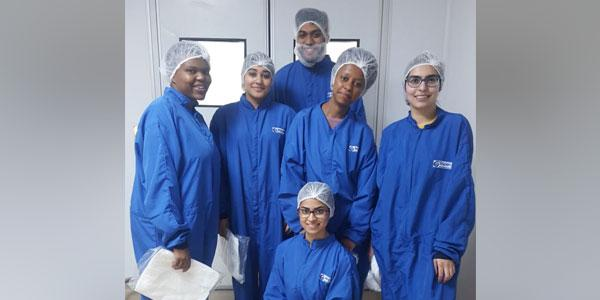 Team Phinder, winner of PharmApprentice 2018, win externships and a two-day tour of Aspen Sterile Manufacturing Facility in Port Elizabeth, South Africa.