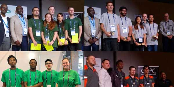 Wits teams participated in the 2018 Centre for High Performance Computing Student Cluster Competition