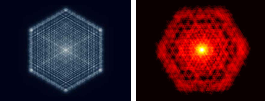 Wits researchers, including Professor Andrew Forbes, prove the long-held theory by making the first direct observation of fractal light from lasers.