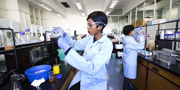 School of Chemistry laboratory. CREDIT: WITS UNIVERSITY