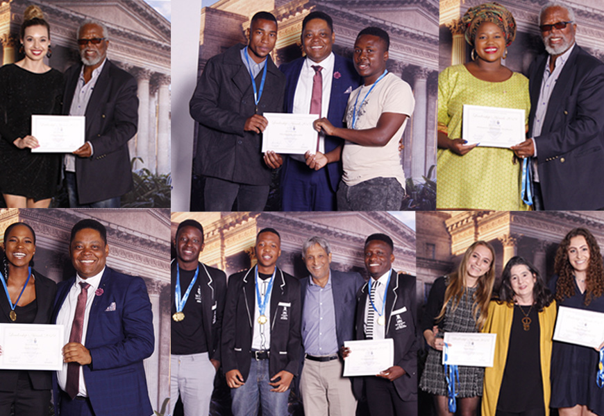Students recognised for service to society at the annual Student Leadership Awards