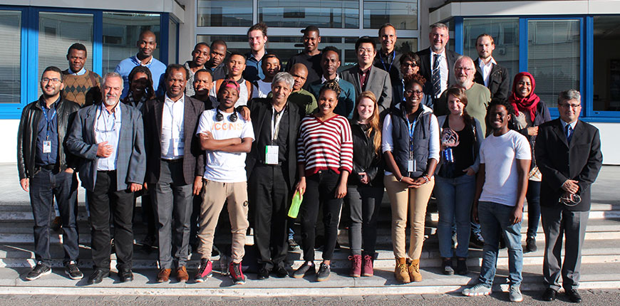 Wits delegation with members of the ICPP at CERN