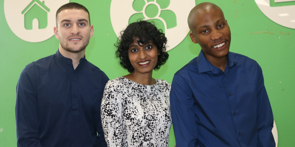 Marc Landau, Ashalia Pather and Karabo Tlagadi are finalists in the prestigious challenge for economics students.
