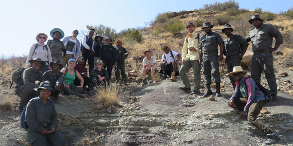 Crowd-funding campaign helps Wits students to find large haul of ancient fossils