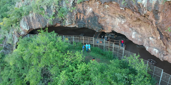 Border Cave in the Lebombo Mountains (Credit: Ashley Kruger)