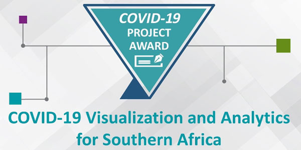 Wits COVID-19 dashboard gets grant award from the IEEE