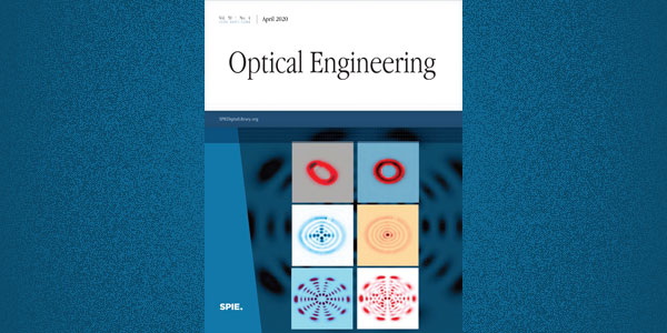 Wits students' research on cover of leading world optics journal