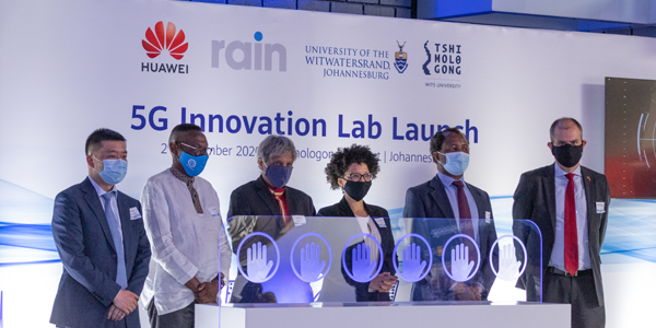 Huawei, rain and Wits University open Africa's first 5G Innovation Lab