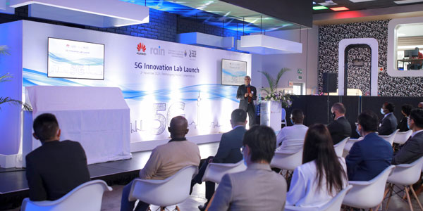 Huawei, rain and Wits University open Africa's first 5G Innovation Lab.