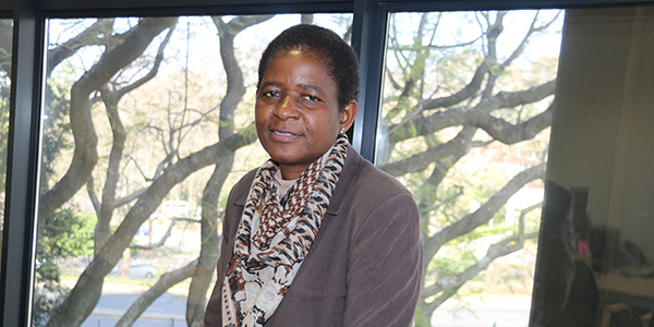 Dr Constance Khuphe, At Risk Coordinator in the Office of Student Support, Faculty of Health Sciences