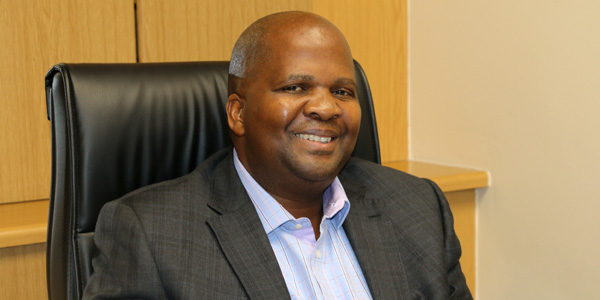 Israel Mogomotsi, New Services Director at Wits