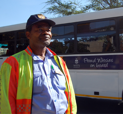 Michael Bodibe retires after 26 years at Wits.