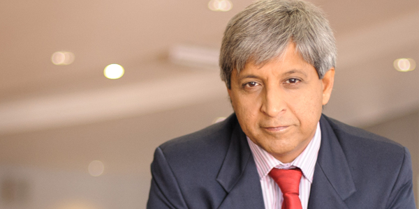 Professor Adam Habib, Wits Vice-Chancellor and Principal