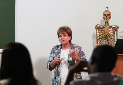 Prof. Maryna Steyn Head of the School of Anatomical Sciences