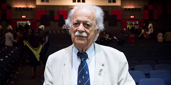 Advocate George Bizos will deliver the Nadine Gordimer Lecture at Wits on 18 May 2017