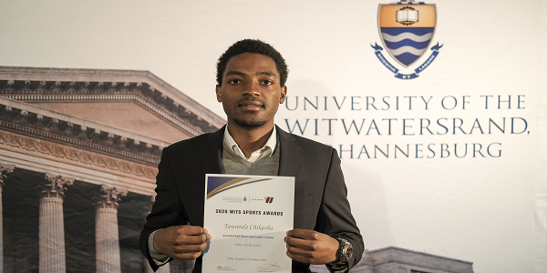 Wits sailor Tawanda Chikasha sails into favour for Zimbabwe Achievers gong